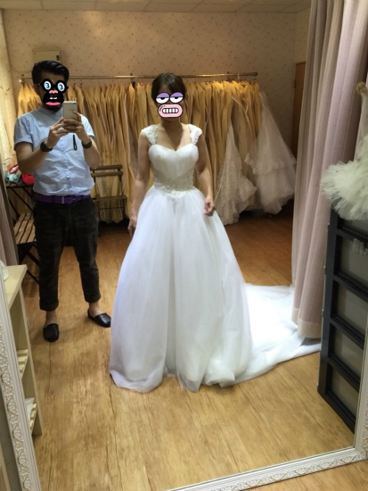 台湾結婚写真ドレス5