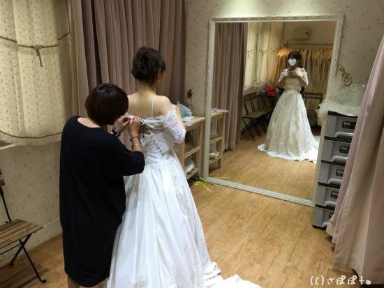 台湾結婚写真ドレス3