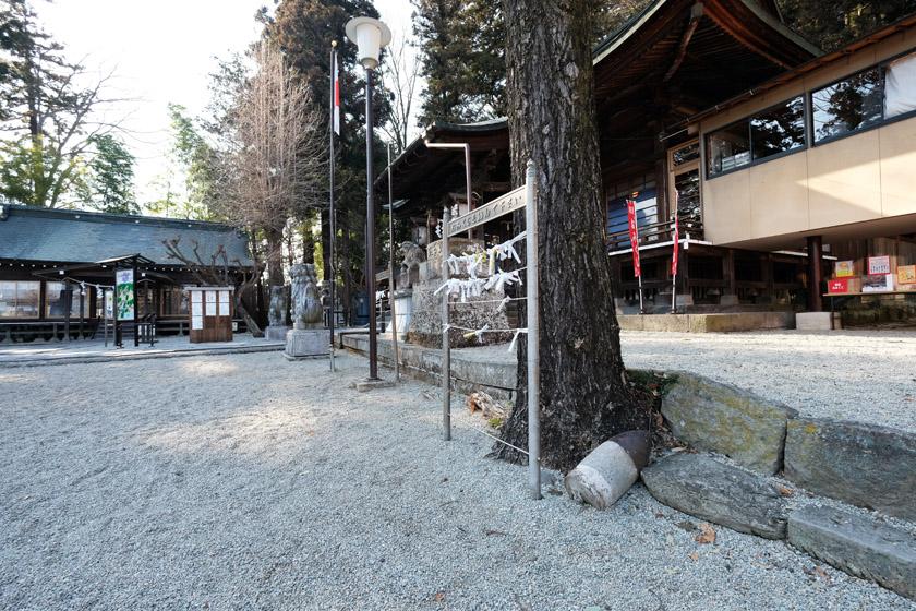 白河鹿島神社/砲弾