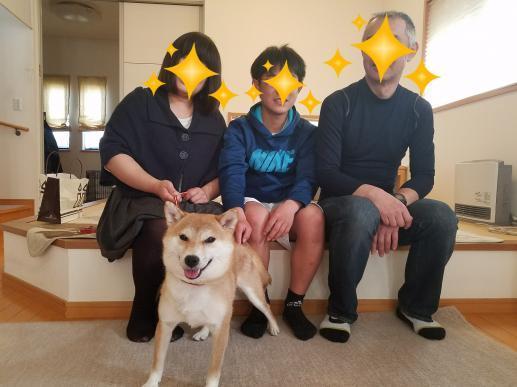 モモちん家族