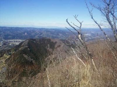 山頂から見る長福山