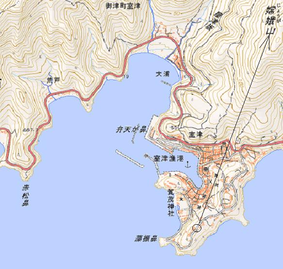 室津地図 2