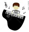 ピアノ男の子2