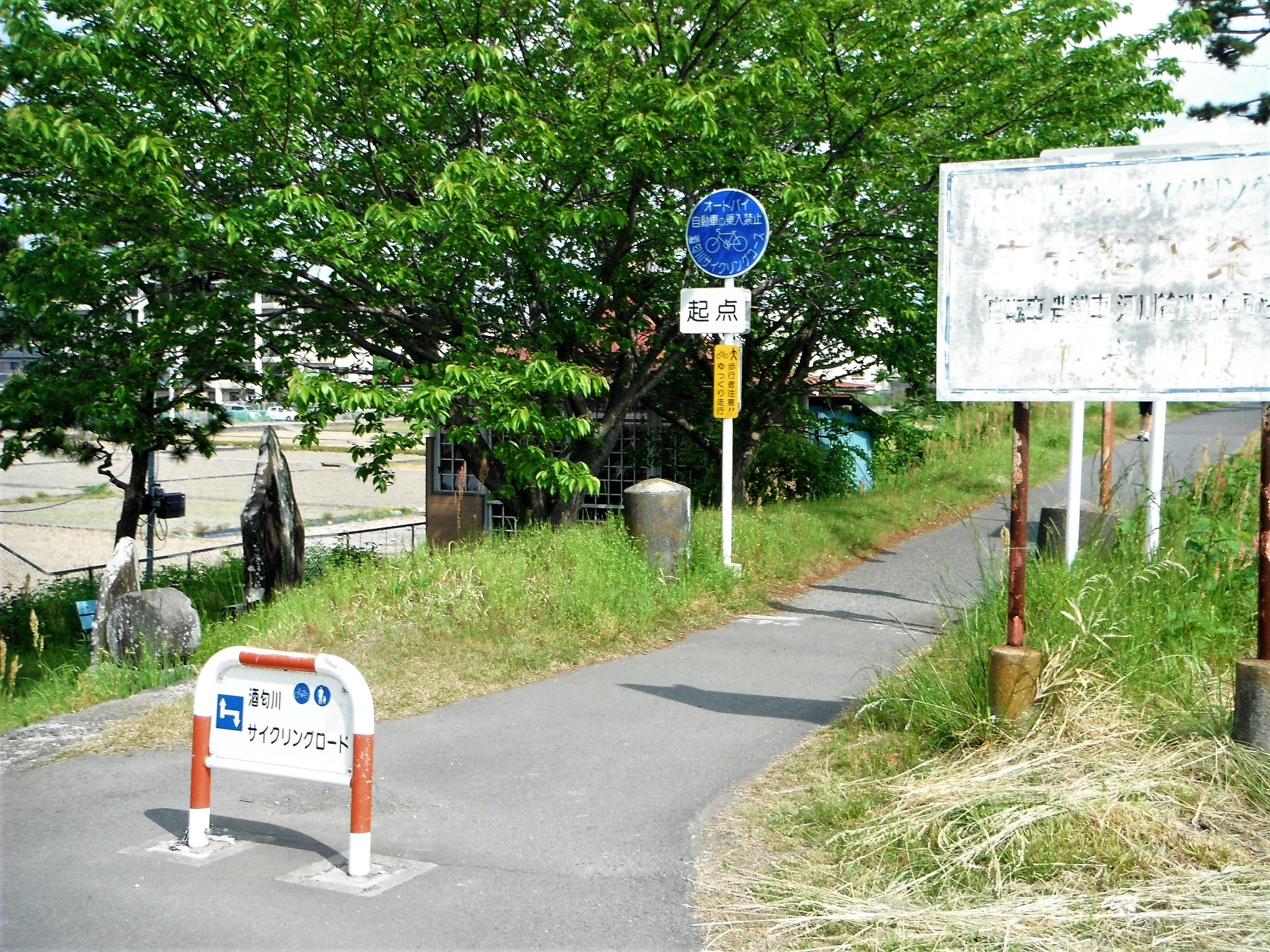 酒匂川サイクリングコース1