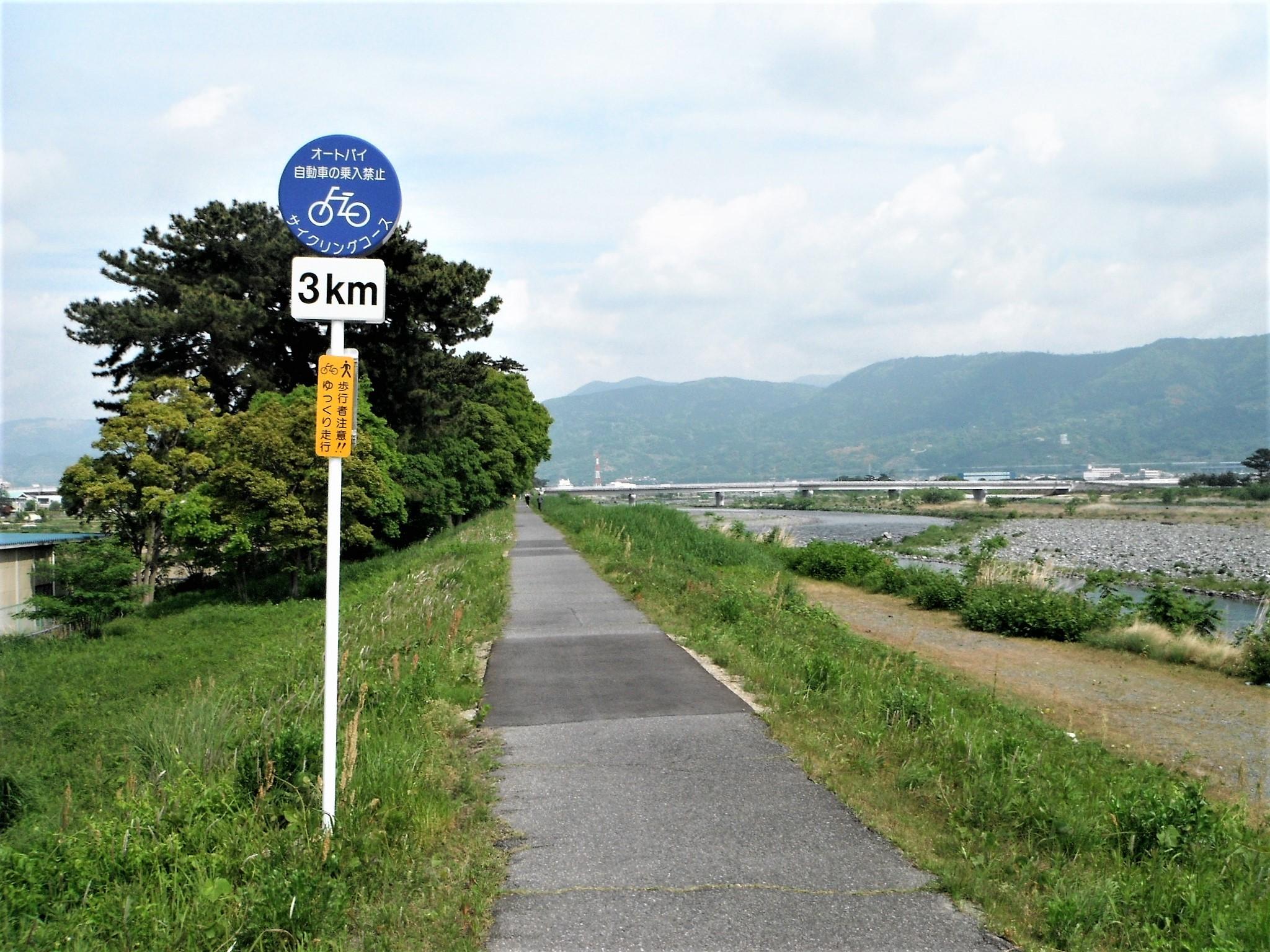 酒匂川サイクリングコース4