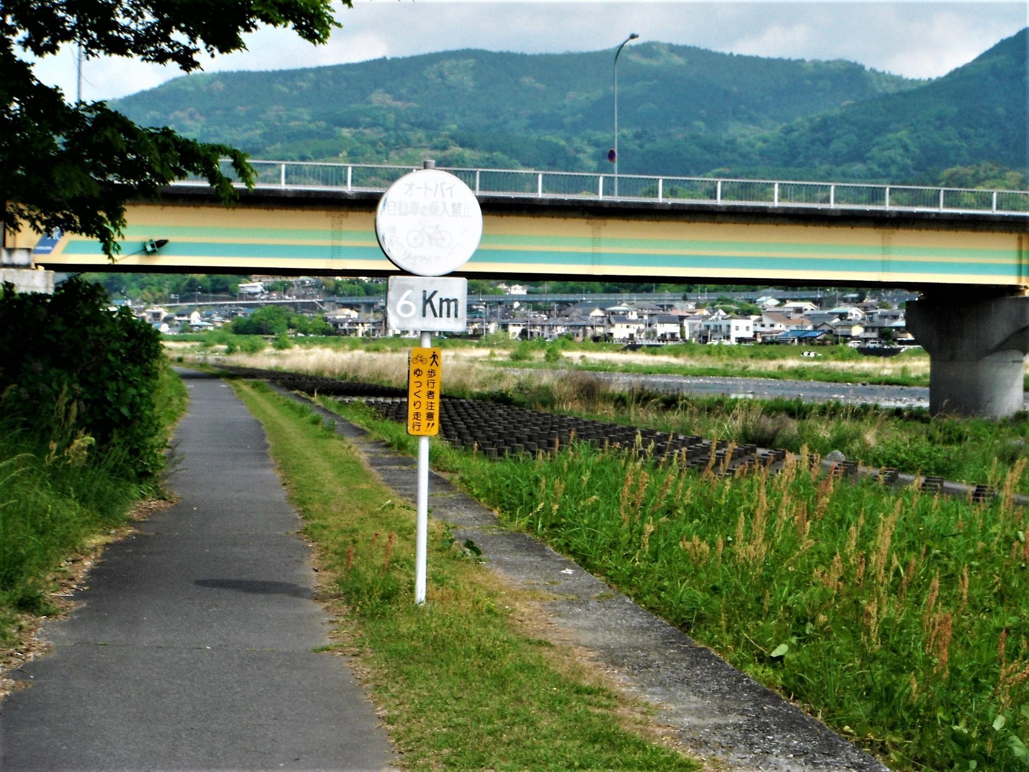 酒匂川サイクリングコース9