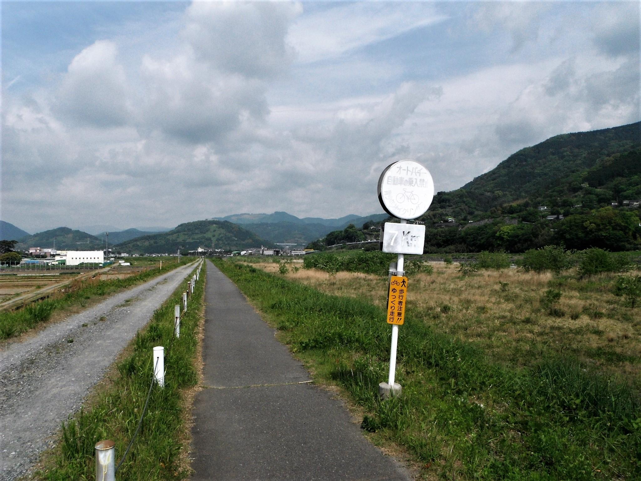酒匂川サイクリングコース10