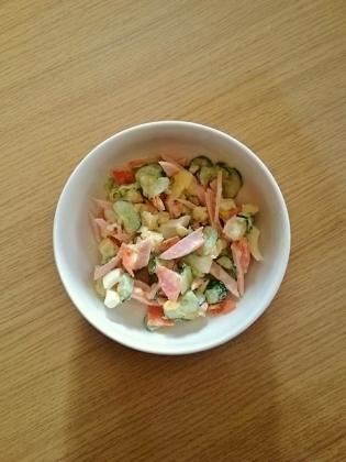 玉子とポテトのサラダ