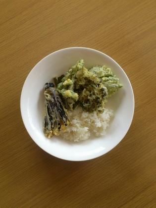 天ぷら、天丼3