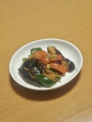 野菜の麻婆味噌炒め