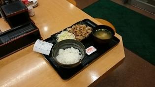 吉野家スタミナ定食(軽め)3