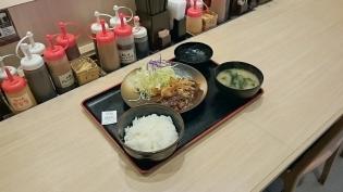 松乃家、デミかつ定食3