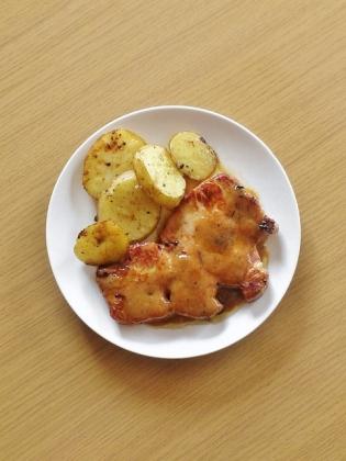 ポークソティ(豚ロース味噌漬け焼き)5