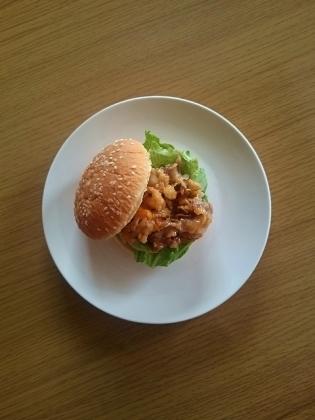 牛焼肉チーズバーガー