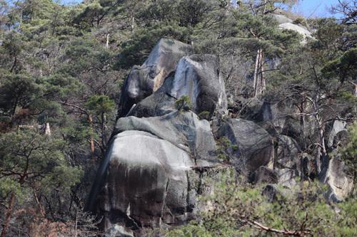 20170402 昇仙峡 古代人面石