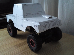 paper craft jimny 1