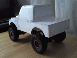 paper craft jimny 2