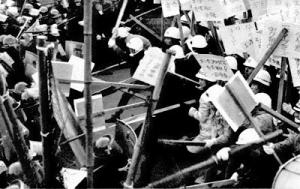 反社会的な珍棒騒動を引き起こす珍棒団