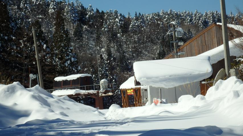 2017年2月15日の剣山スキー場