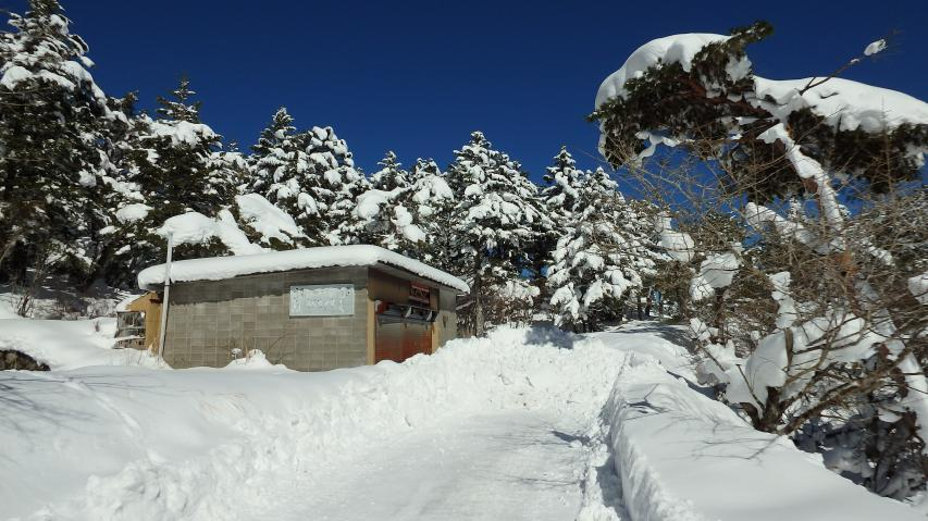 ラ・フォーレ剣山の入り口