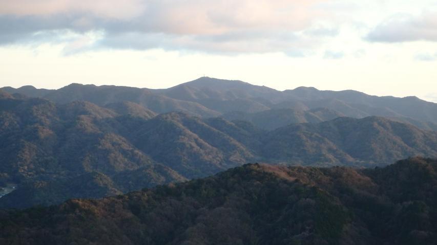 淡路島最高峰の諭鶴羽山