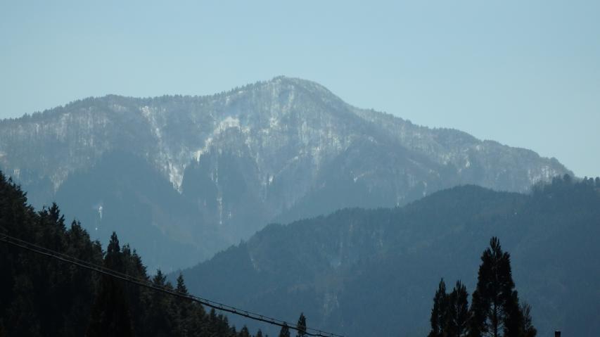 烏帽子山の前衛峰