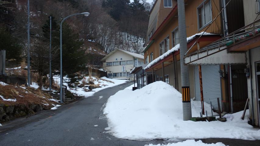 民宿街の入り口