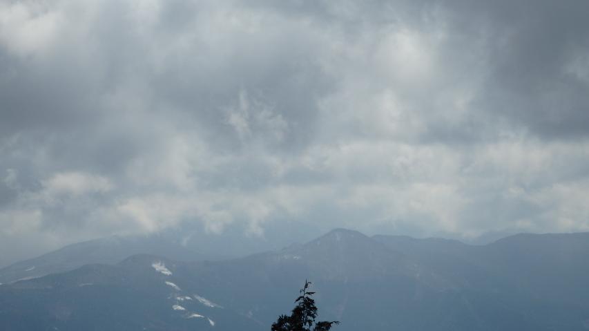 丸笹山の裾あたり