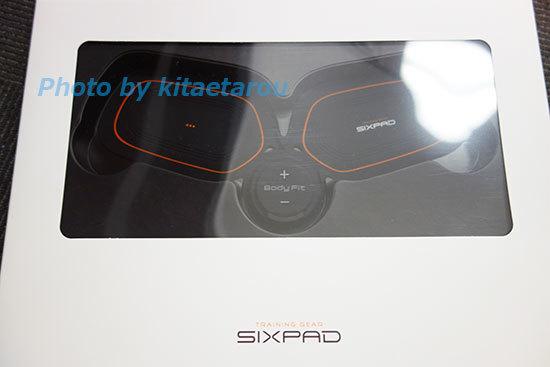 SIXPAD Body Fit2の効果お試し体験はじまります。まずは箱から。