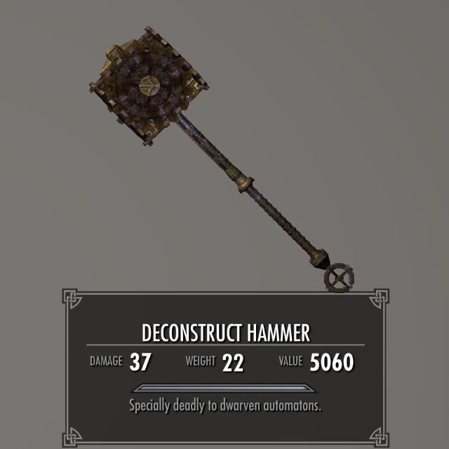 Dwarven Colossus 020-1 Info 2HM 1