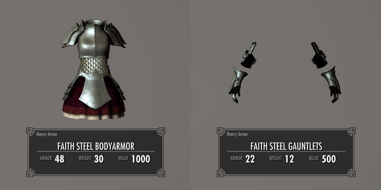 Chevaleresse Armor 011-1 Info Gauntlets 2