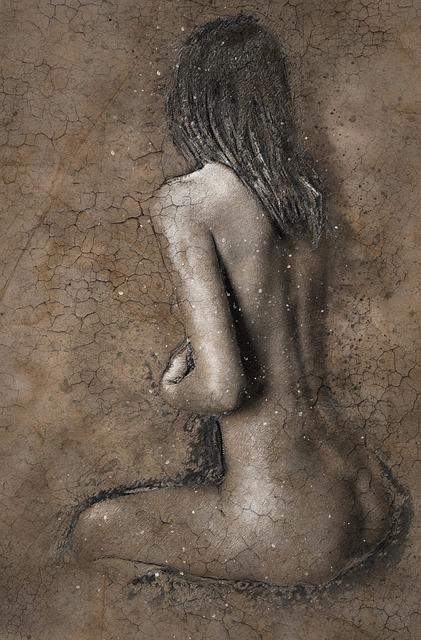 フリー画像・彫刻の女