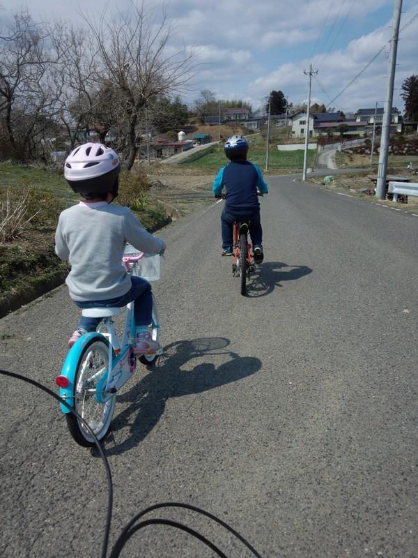 春休みサイクリング