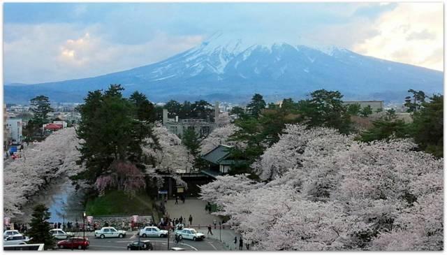 青森県 弘前市 弘前城 弘前公園 弘前さくらまつり サクラ 桜 写真 観光