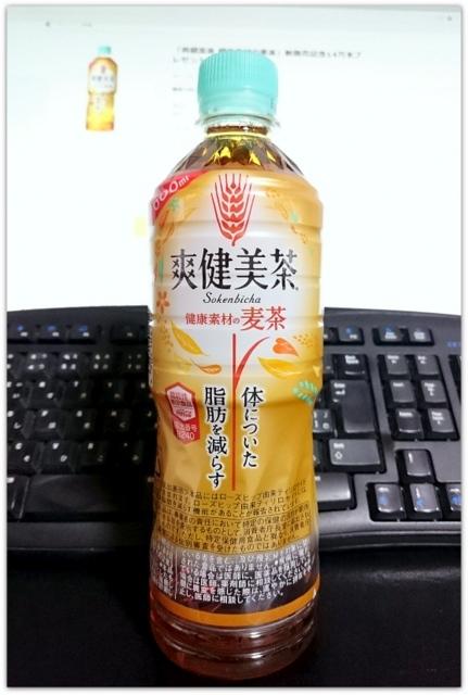 爽健美茶 健康素材の麦茶 プレモノ 当選 懸賞 ペットボトル 飲料
