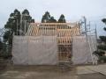 鶴岡の家建て方開始