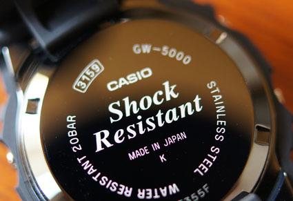 カシオ計算機 G-SHOCK「GW-5000-1JF」 03
