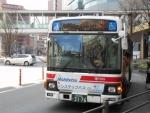 100円循環バス(博多~キャナル)2017.3.9