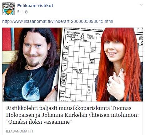Tuomas Holopainen Ristikko