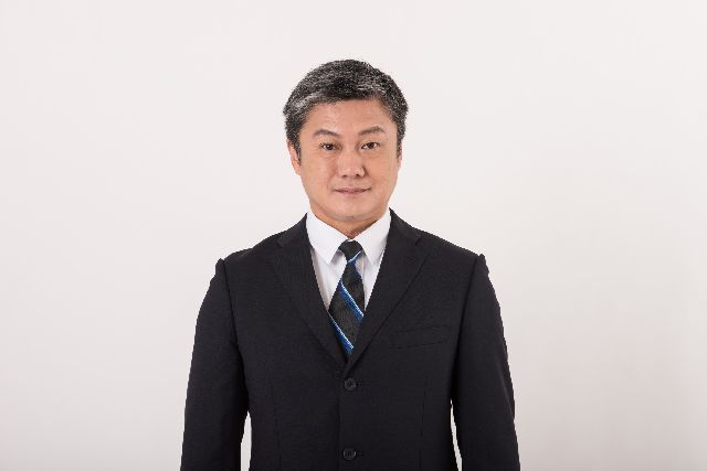 ネクタイを した ビジネスマン