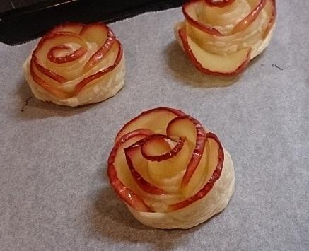 201702薔薇リンゴパイ