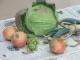 画題に選んだ野菜