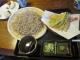 お昼の天ぷらそば