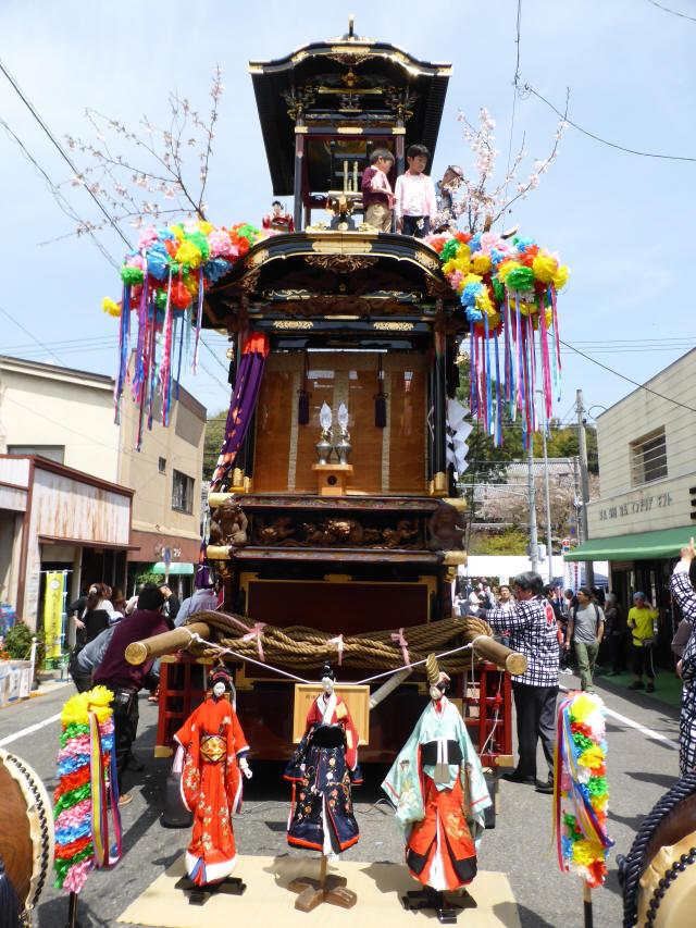 雨車(中組の山車)6