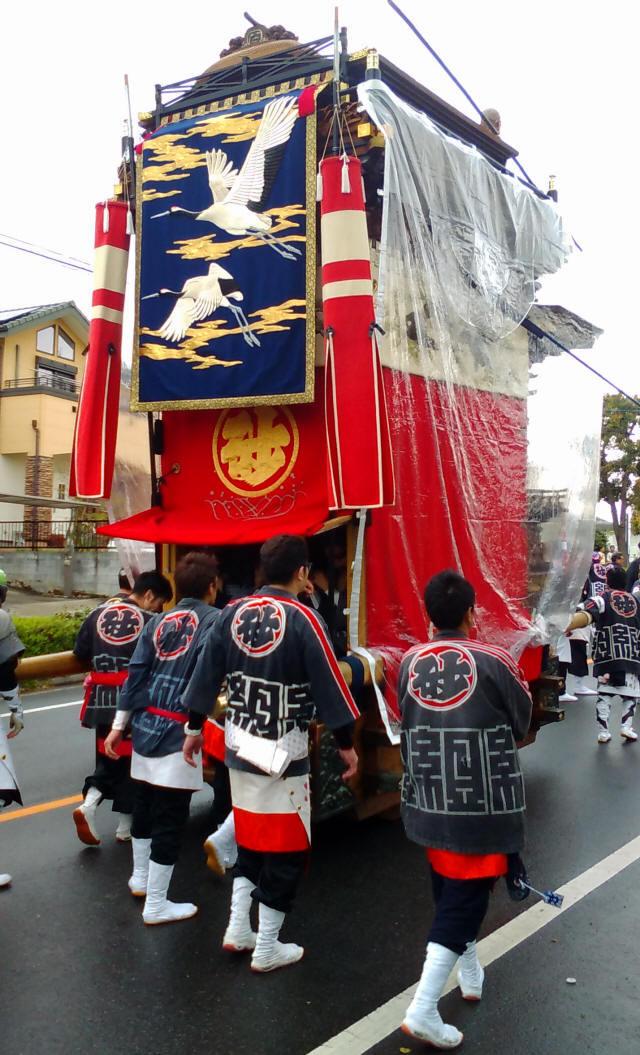 白山車(砂子組)2