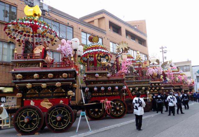 神輿と花山車17