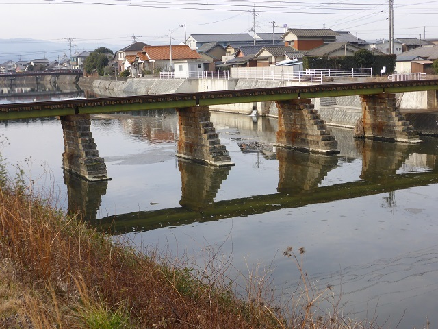 ことでん新川橋梁5