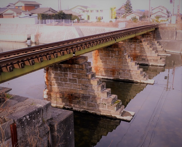 ことでん新川橋梁1