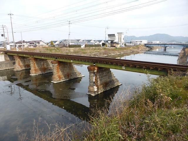 ことでん新川橋梁7