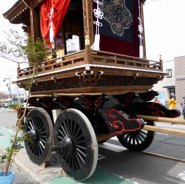 作坂町の曳山2